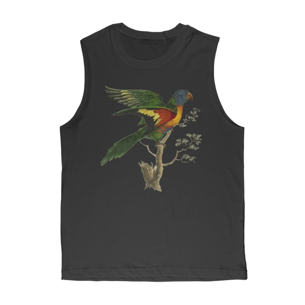 Blue-Bellied Parrot Premium Adult Muscle Top