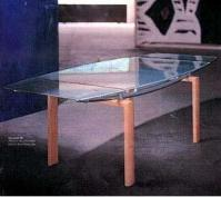 Italian Designed Furniture - Glass Coffee Table