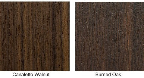 Canaletto Walnut and Burned Oak | Nelson Bed