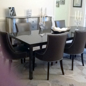 Italian Designed Furniture - Granite Dining Table