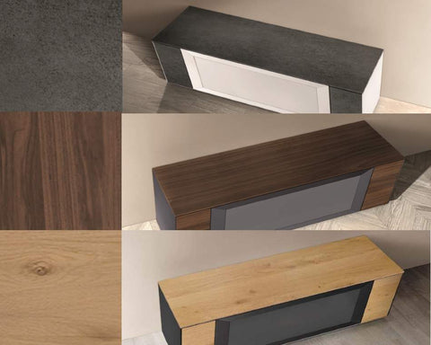 Multiple Finish Options for Italian TV Stand