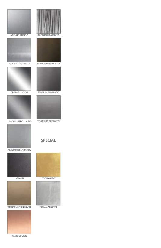 Reflex Metal Finishes