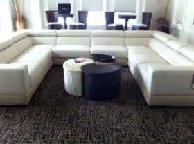 Italian Designed Furniture - Lounge wrap around couch