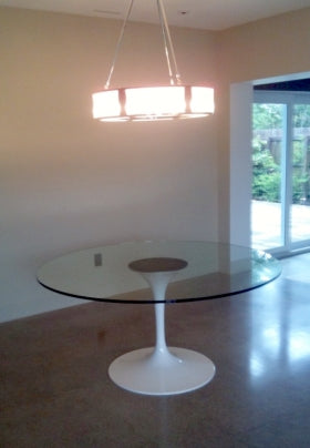 Italian Designed Furniture - Glass Table