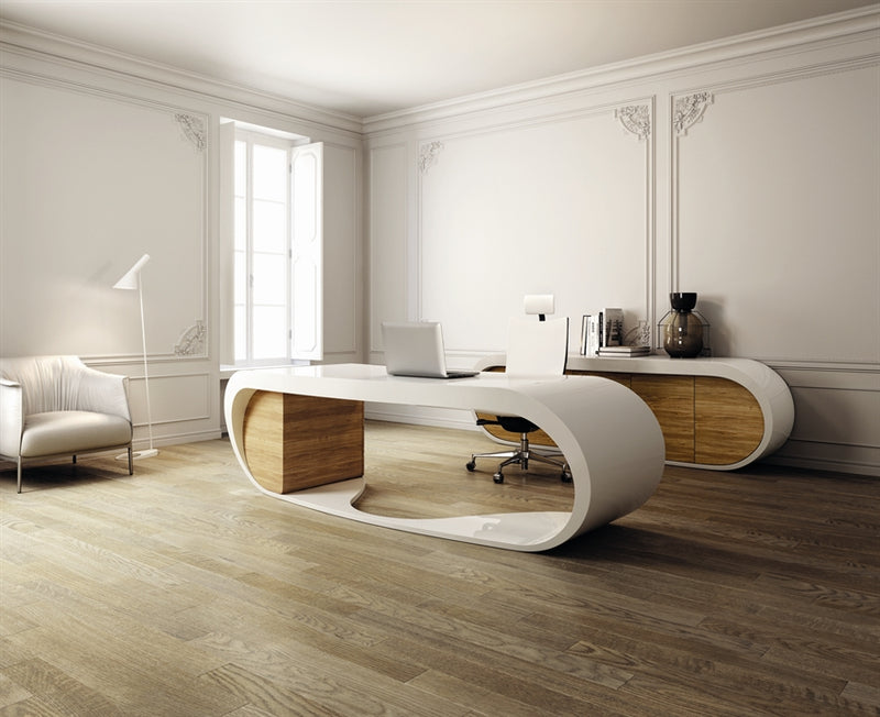 Goggle Desk Sculptural  Executive desk  designed by Danny Venlet and made in Italy