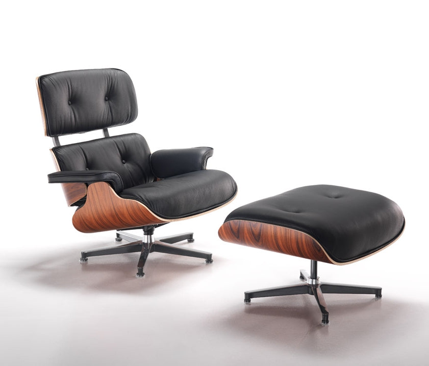 900 Lounge Chair & Ottoman - Lounge chair and ottoman inspired  Charles Eames