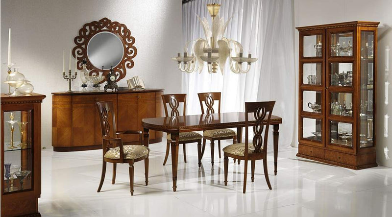 Dining room full of luxury furniture
