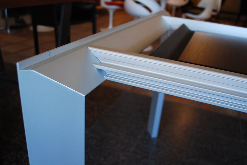 Kristalia Nori Dining Table Aluminum Legs