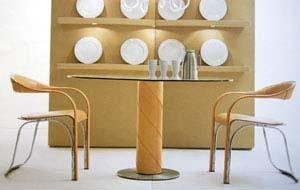 Rolling Dining Table - italydesign.com
