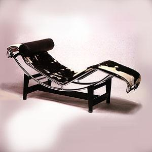 Le Corbusier Chaise Longue Article 505P - Le Corbusier pony skin chaise longue made in Italy