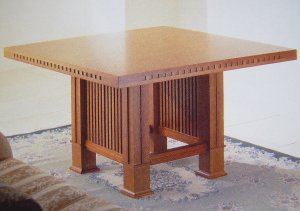 Arts and Crafts Table Square - Modern Furniture | Contemporary Furniture - italydesign