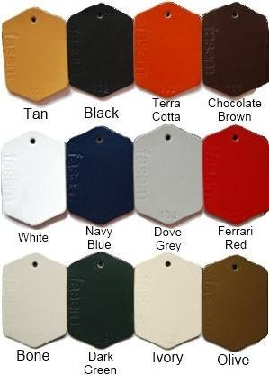 Cayman Piston Barstool leather color options