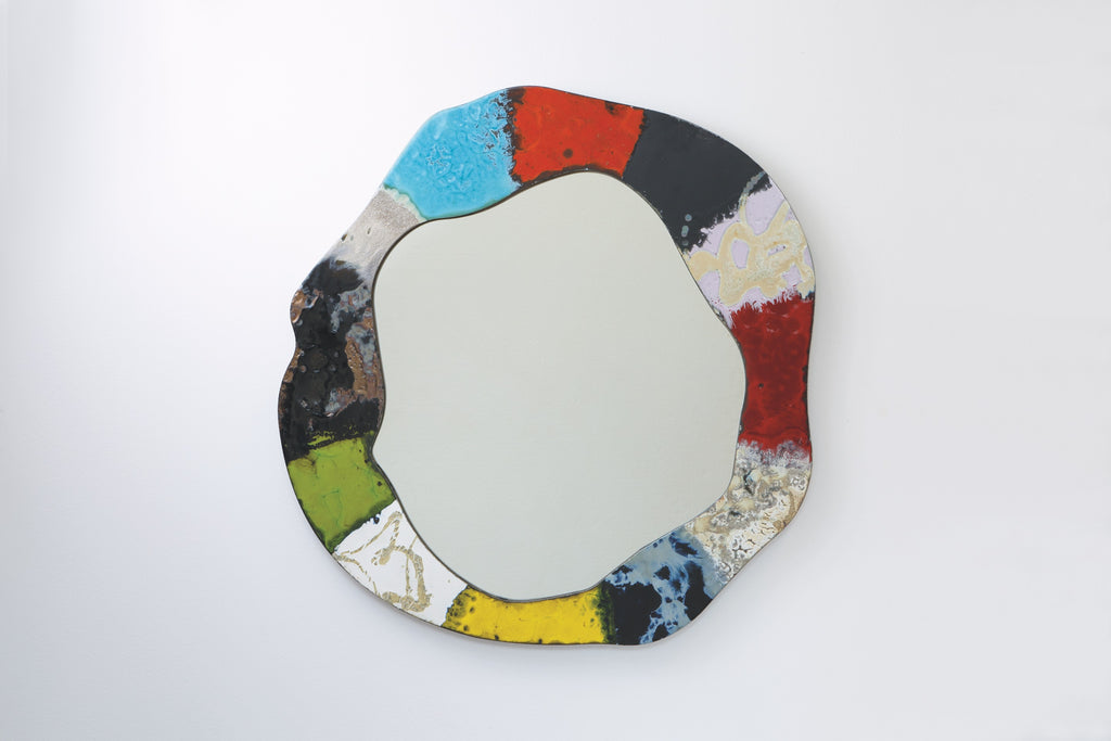 Ceramic Stone Modern Art Mirrors