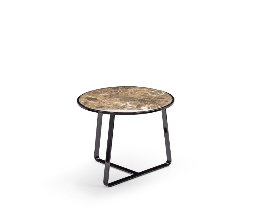 R Marble End Table