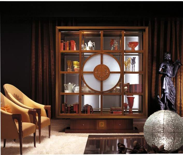 Il Quadro' vitrine - bookcase VL11 made in Italy by Carpanelli