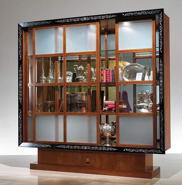 'Picture' vitrine bookcase moresque VL19