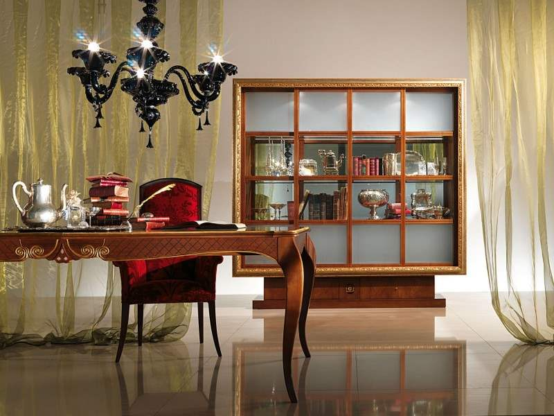 Vitrine bookcase 'Picture' with frame VL20