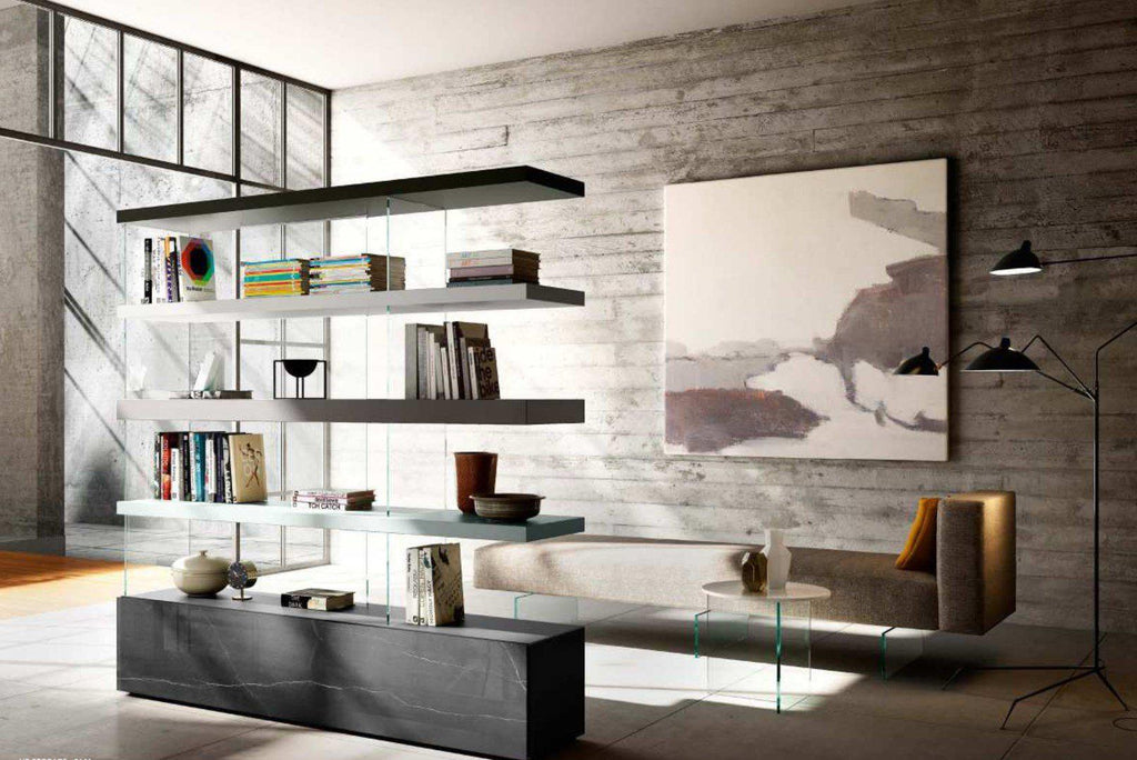 Air Bookshelf - Air bookshelf modular system by Lago made in Italy