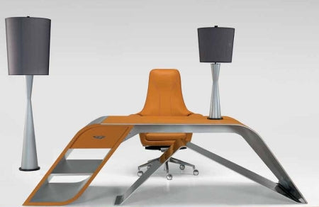 V004 Desk - Modern  Desk with  Luxury styling by Interiors by Aston Martin