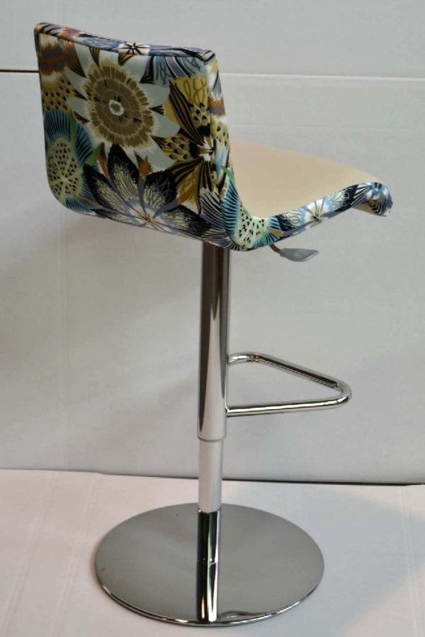 Cloud M Stool in floral print
