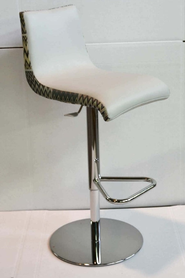 Adjustable bar stool by Missoni Home