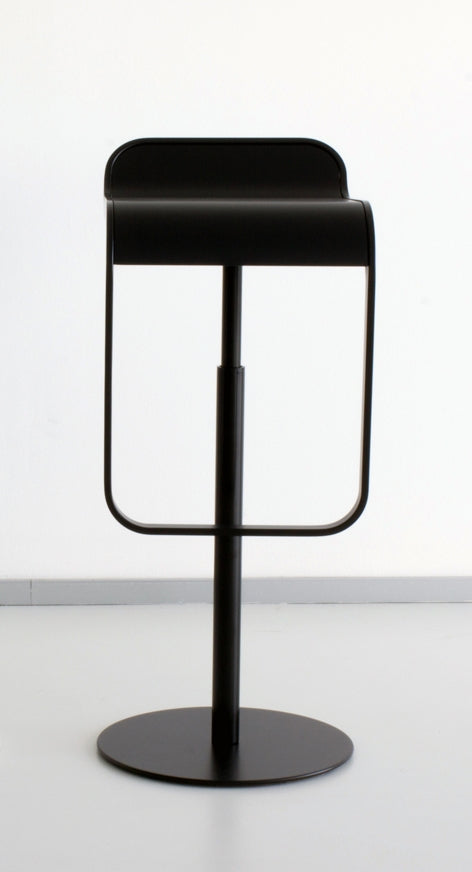 Black LEM bar stool by LaPalma, Italian designer furniture maker