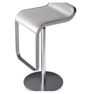 Side view of LEM bar stool by LaPalma