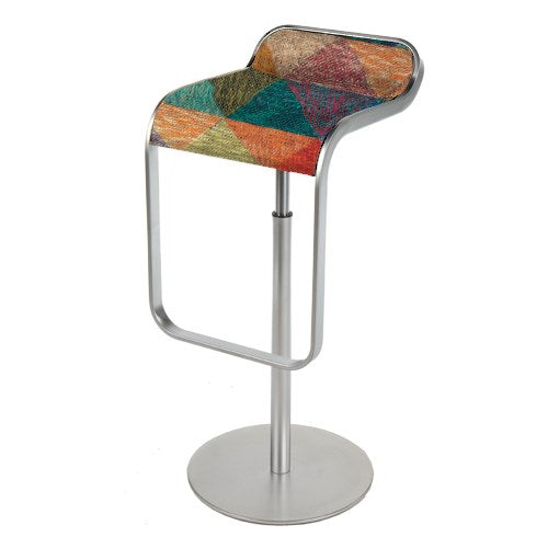LEM barstool by LaPalma in abstract color print