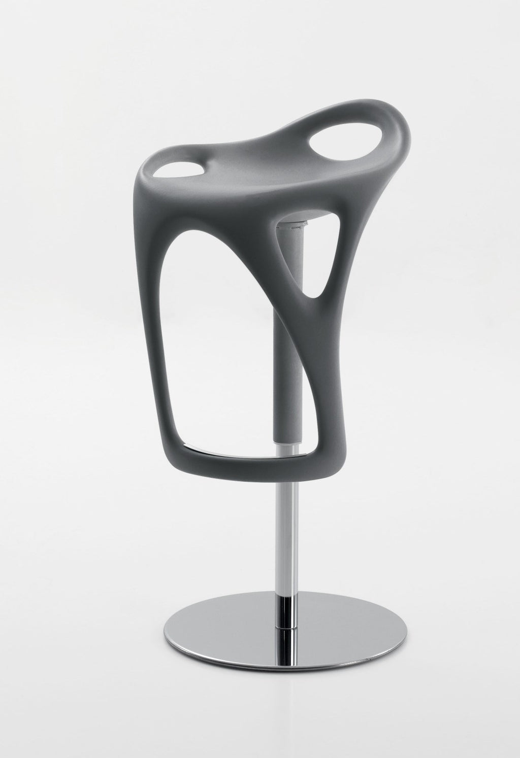 Sculptura Stool - in black