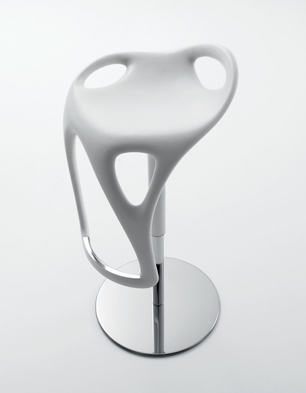 Sculptura Stool - in white