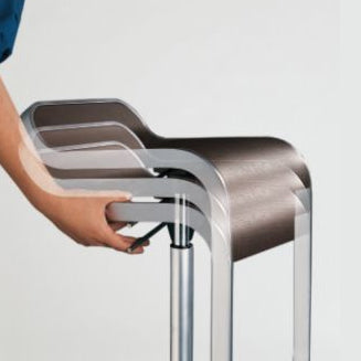 Action image of piston function for LEM bar stool