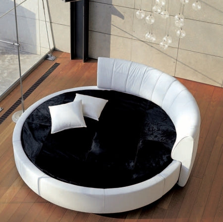 Birds eye view of Luxury modern round bed  by Reflex made in Italy