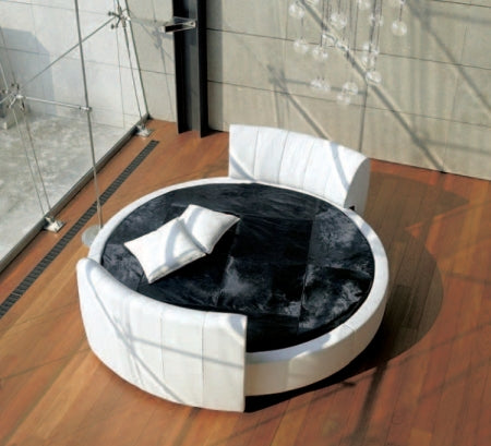 Luxury modern round bed  by Reflex made in Italy