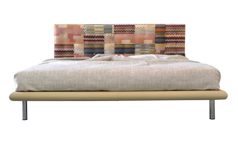 Mies / MissoniHome Fabric Bed made in Italy
