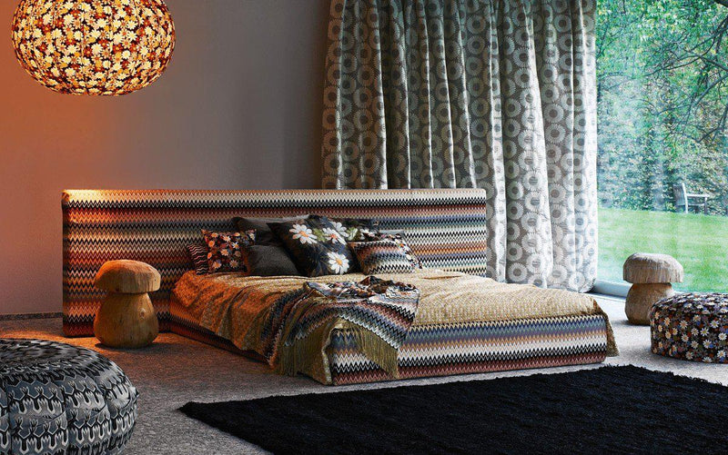 Golden Age Bed - Modern Bed  by Missoni Home