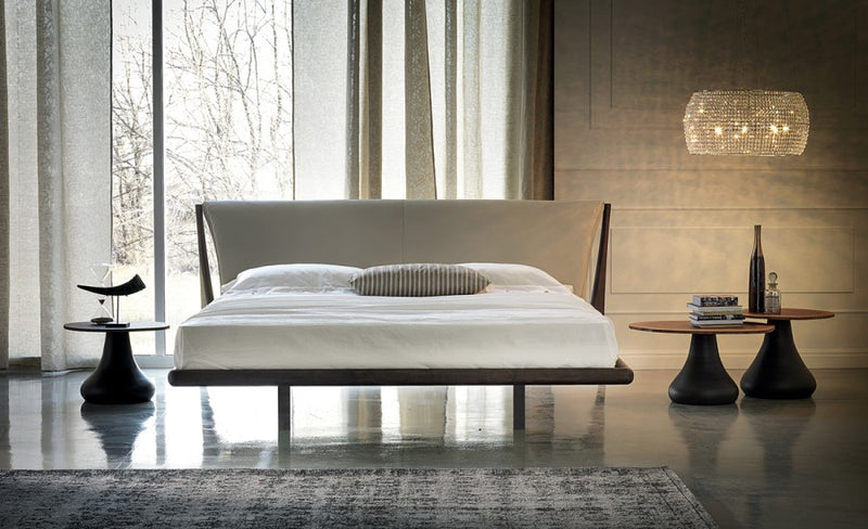 Front View of Nelson Bed designed by Cattelan Italia
