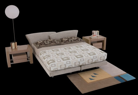 Super Roy Bed made in Italy by Il Loft