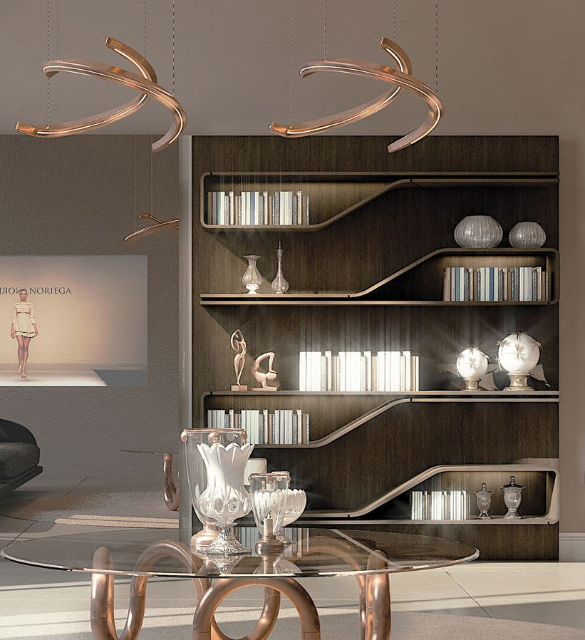 Segno Libreria - High end modern bookcase designed by Pinifarina for Reflex