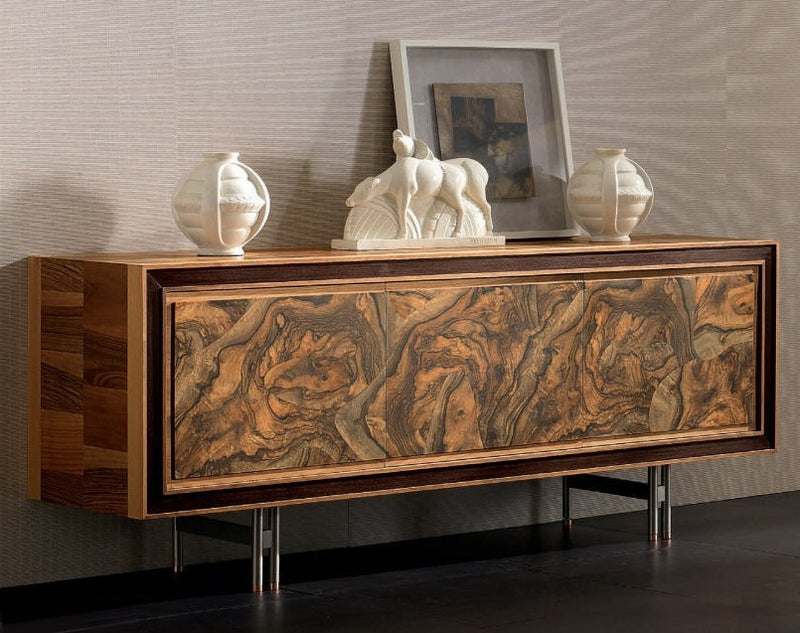 Front View of Toscano Buffet Cabinet designed by italydesign