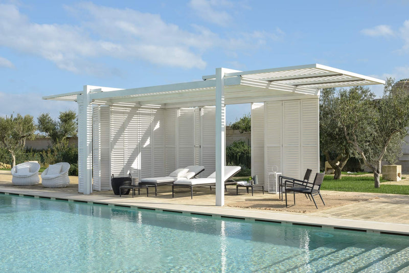 Cap Ferrat Wooden Pergola - Modern Furniture | Contemporary Furniture - italydesign
