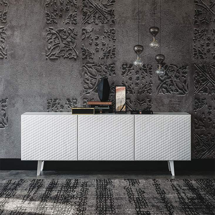 Absolut Buffet by Cattelan Italia in white