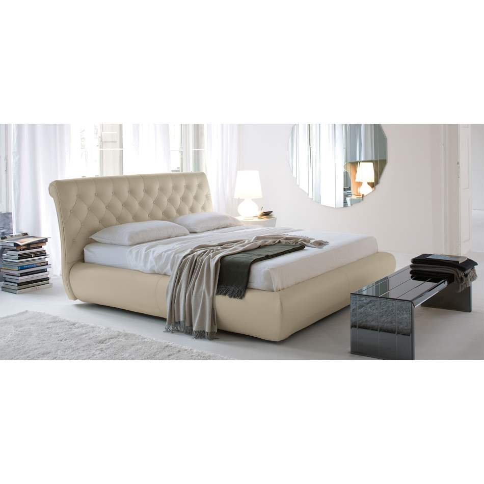 Alexander Bed - Modern  Tufted bed by Cattelan Italia