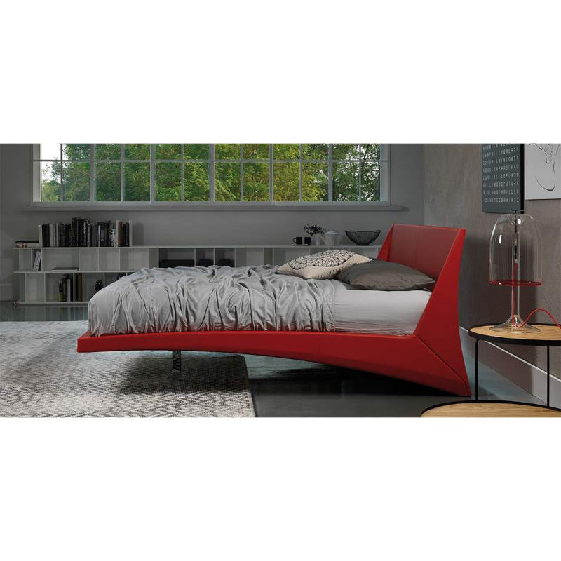 Dylan Bed by Cattelan Italia in red