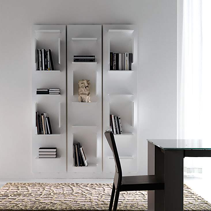 Wall system made in Italy by Cattelan Italia