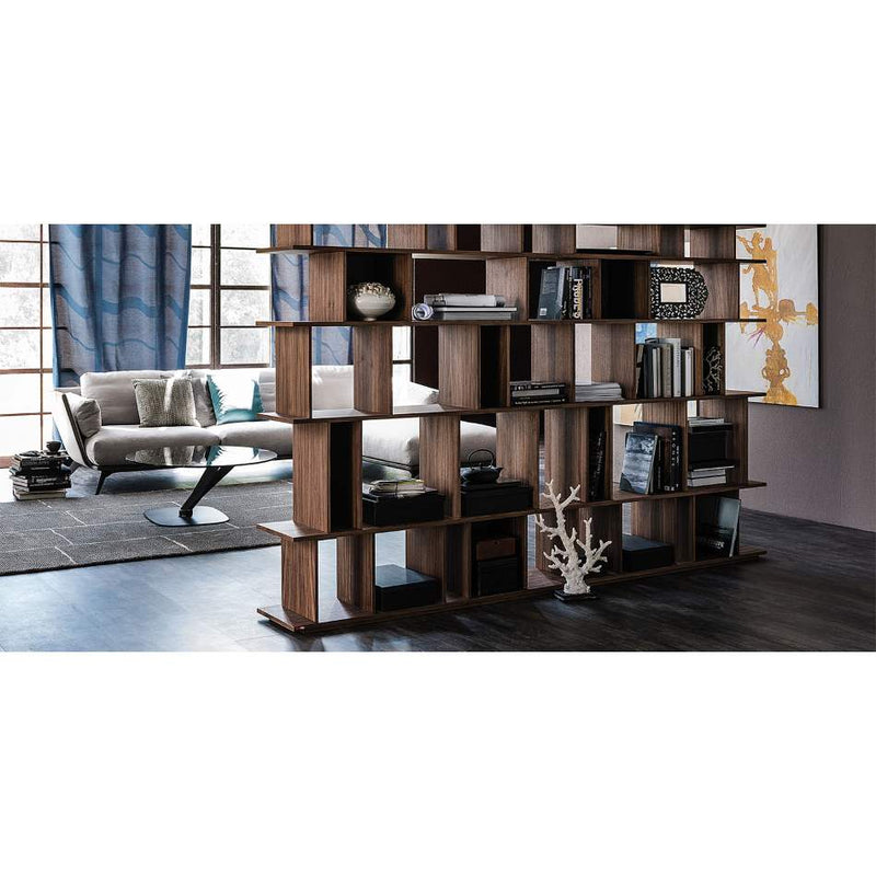Wooden Wall system made in Italy by Cattelan Italia