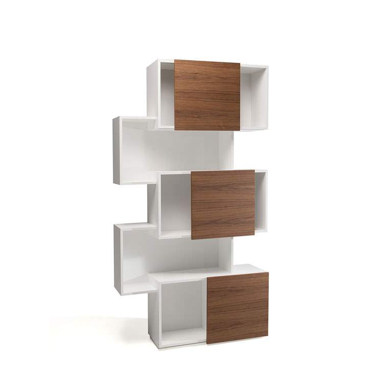 Piquant bookshelf by Cattelan Italia