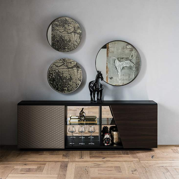 Aston - Luxury modern buffets by Cattelan Italia