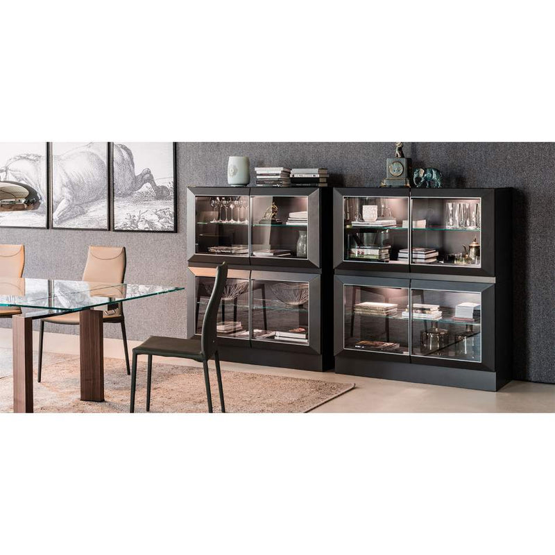 Designer Italian display cabinet by Cattelan Italia