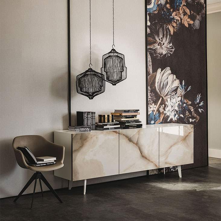 Metropol buffet made in Italy by Cattelan Italia