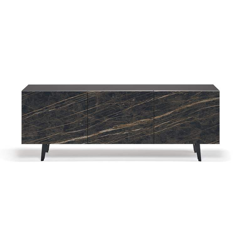 dark marbled luxury buffet
